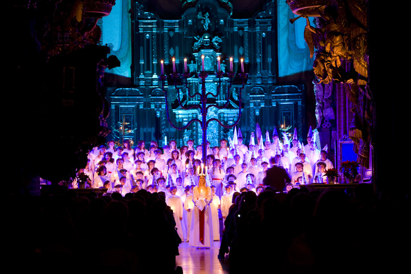 La cerimonia di Santa Lucia foto di Henrik Trygg