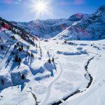 Neve: Simon Beck e l'arte di camminare