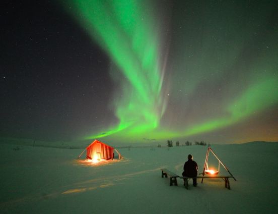 aurora boreale in finalndia