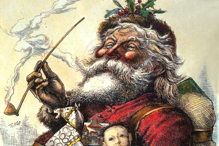 Babbo Natale illustrazione