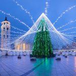 Natale in Lituania, un albero da favola