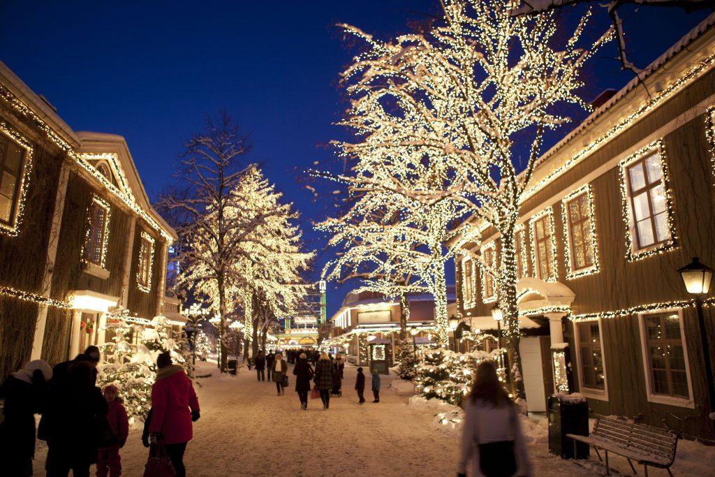 Vacanze in Svezia Natale