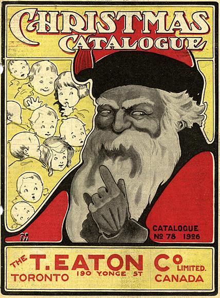 Babbo Natale immagini anni 1926