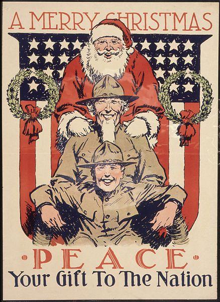 Babbo Natale immagini anni 1918