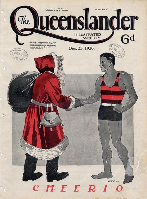 Babbo Natale immagini anni 1930