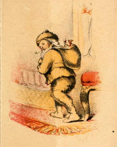 Immagini Babbo Natale antiche