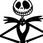 Come disegnare Jack Skeletron Nightmare Before Christmas