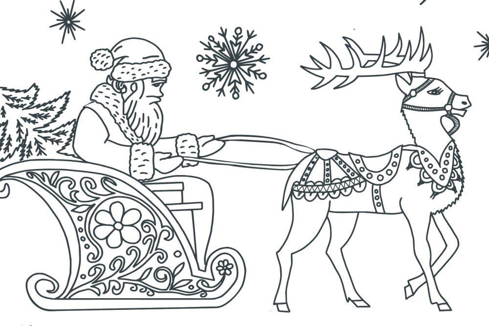 20 Disegni di Natale da colorare