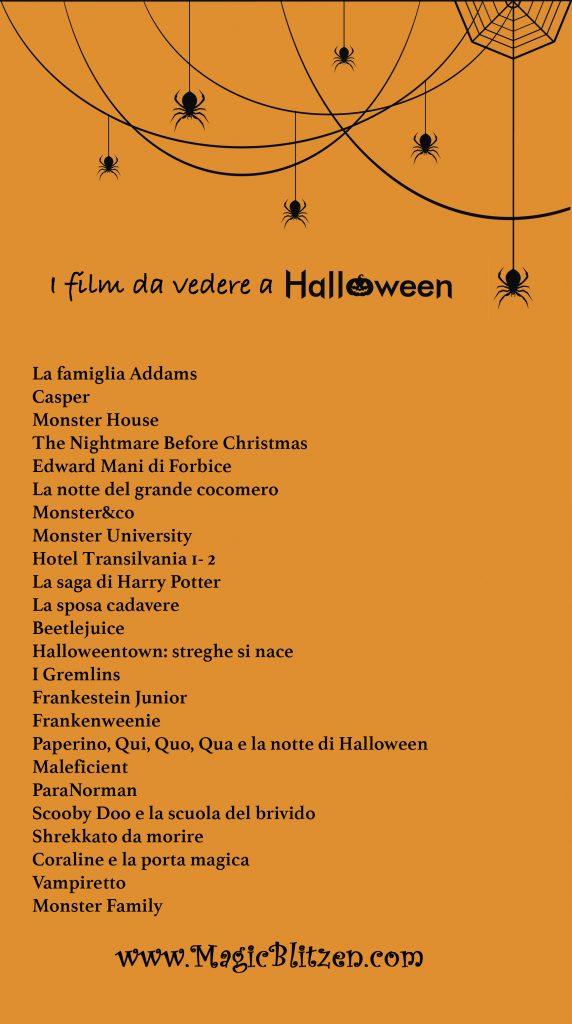 Halloween film da vedere: la lista dei più bei film da guardare la sera di Halloween con tutta la famiglia