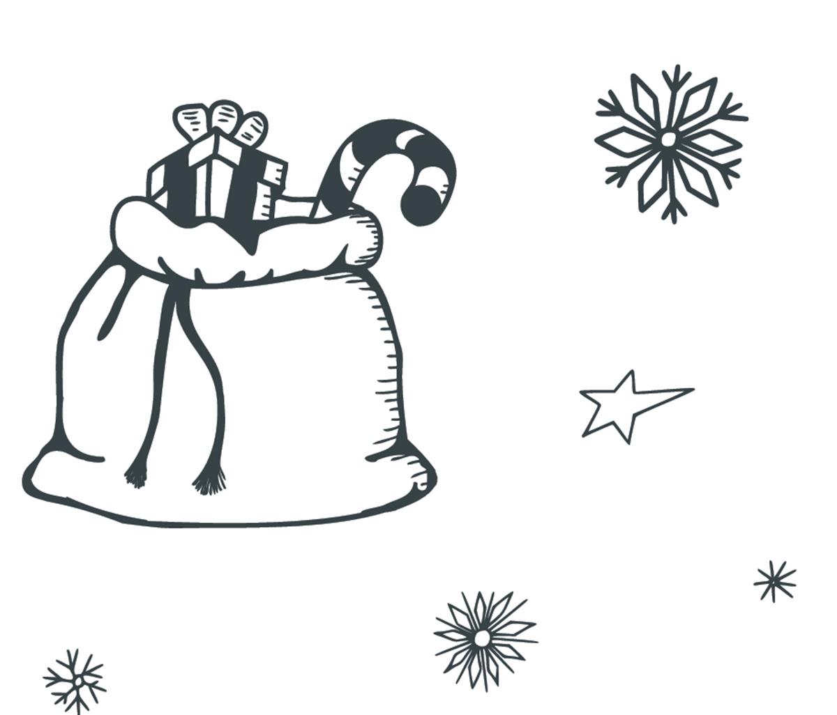 Disegni Di Natale Da Colorare Bellissimi Babbo Natale Albero