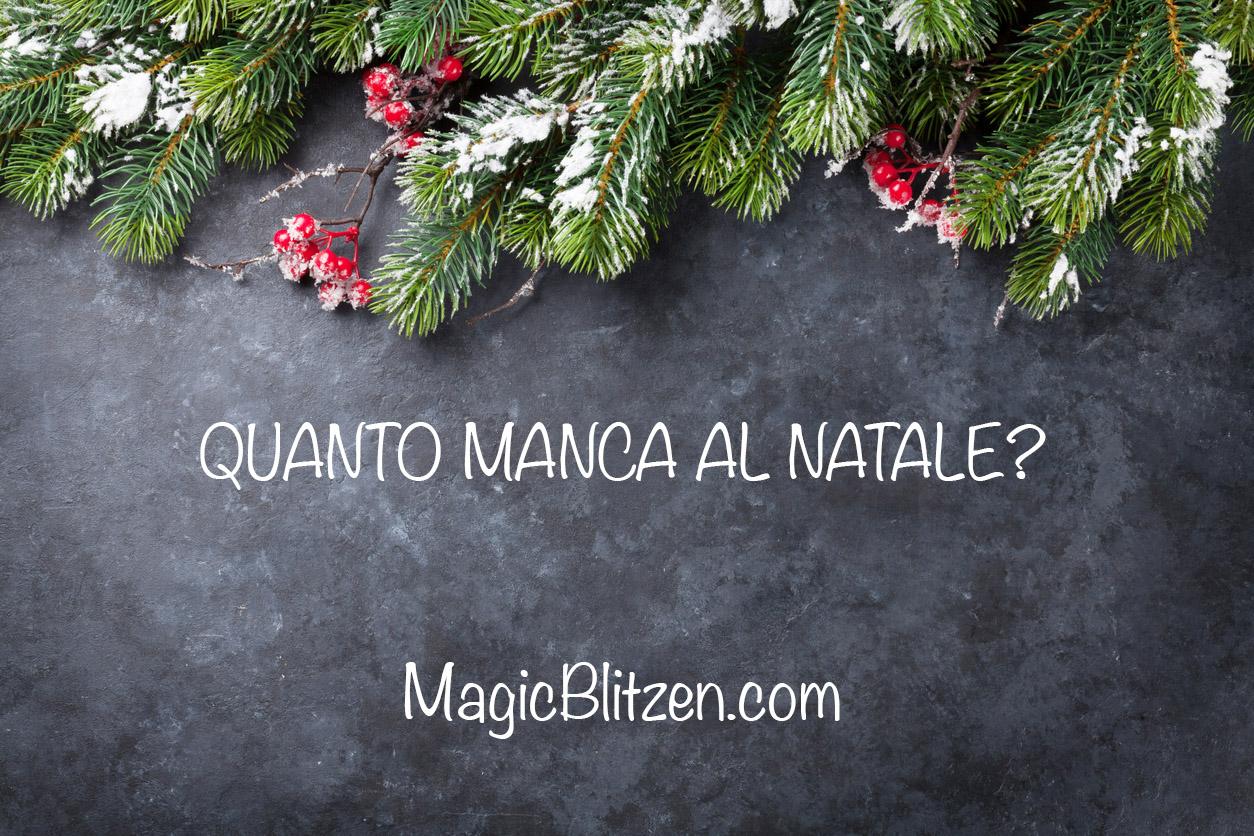 Quanto Manca Al Natale.Quanto Manca Al Natale Magic Blitzen