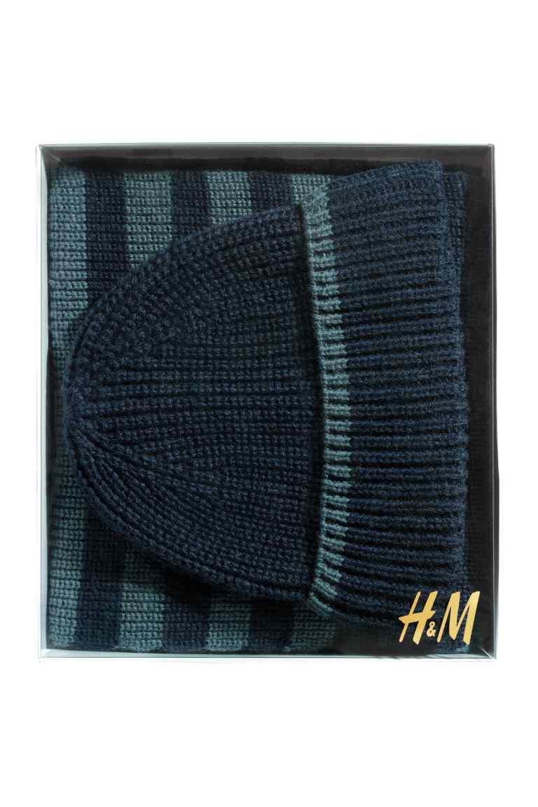 cappello e sciarpa H&M