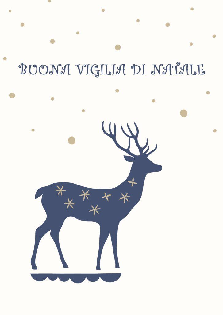 Buona Vigilia di Natale auguri