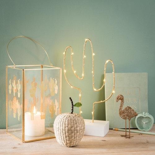 cactus luminoso maisons du monde