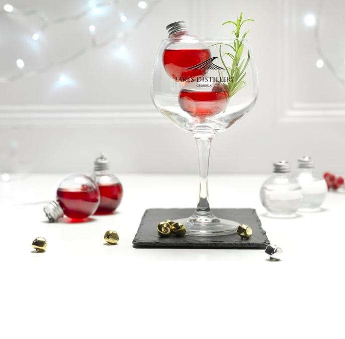 palline albero di Natale vodka