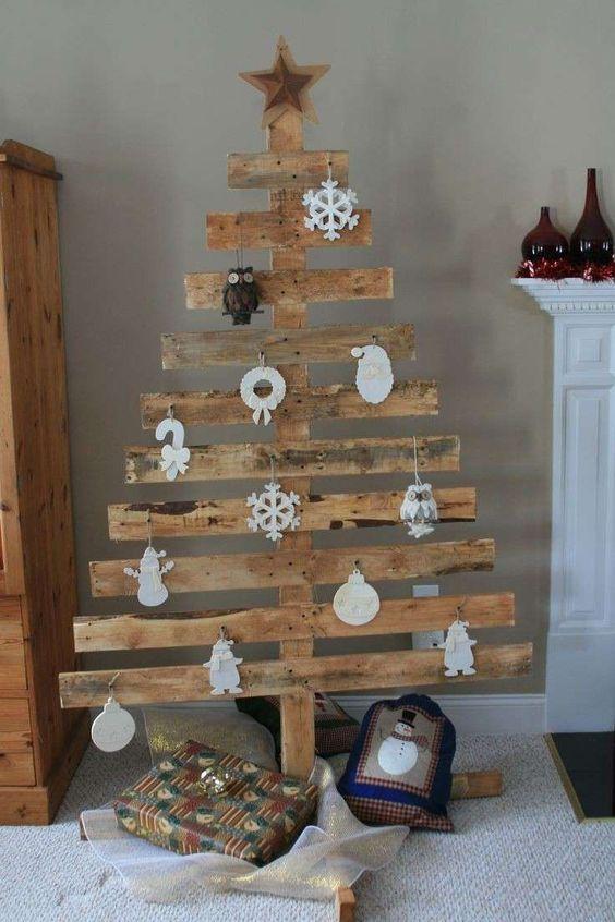 Albero di Natale Legnoso