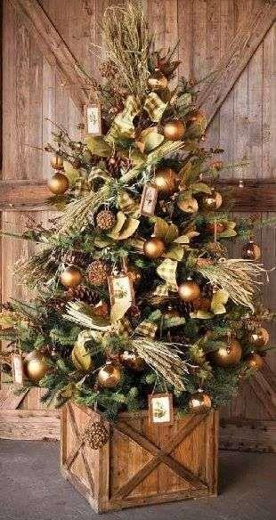 Albero di Natale Bronzeo