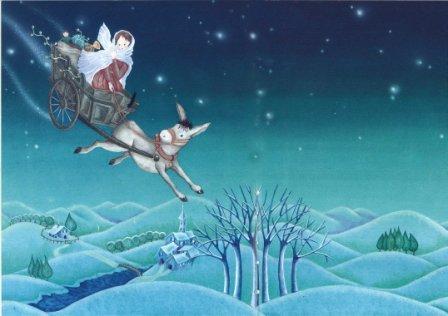 Santa Lucia illustrazione