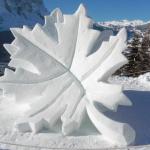 Arte in pista. Apre la mostra per chi ama la neve