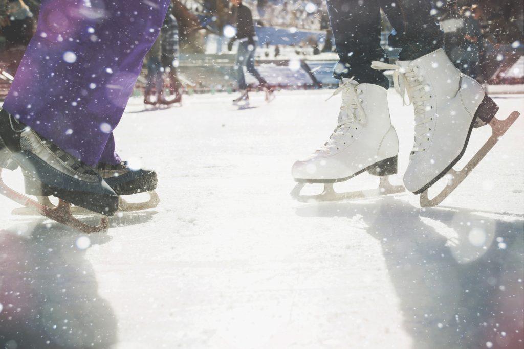 Pista pattinaggio sul ghiaccio milano