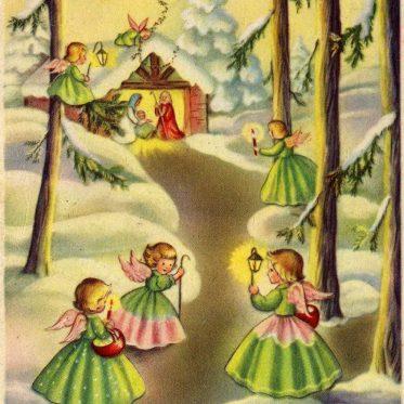Madonna della neve - Cartolina di Natale 1958