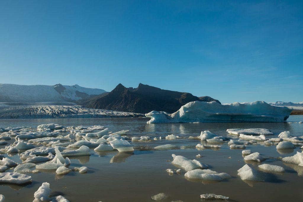 Meteo in Islanda - Jokulsarlon freddo