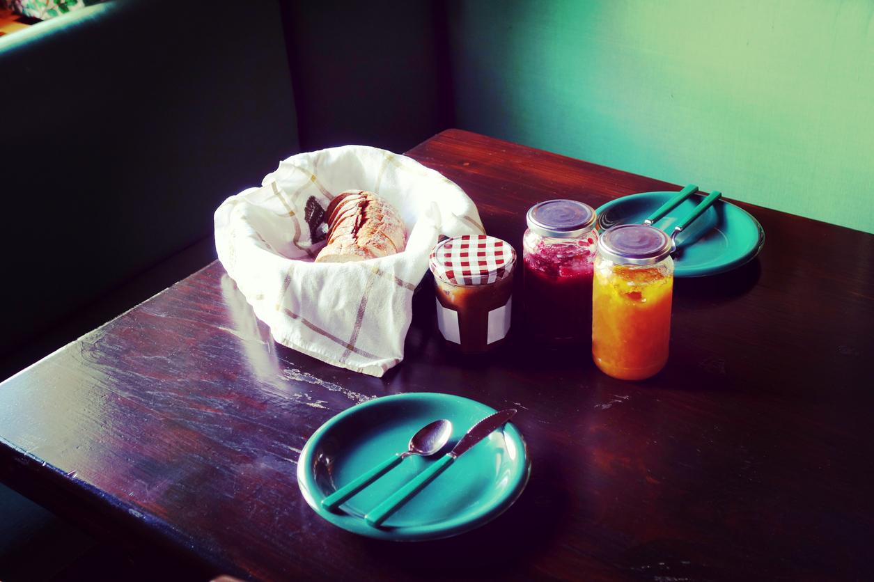 Marmellata di castagne per la colazione