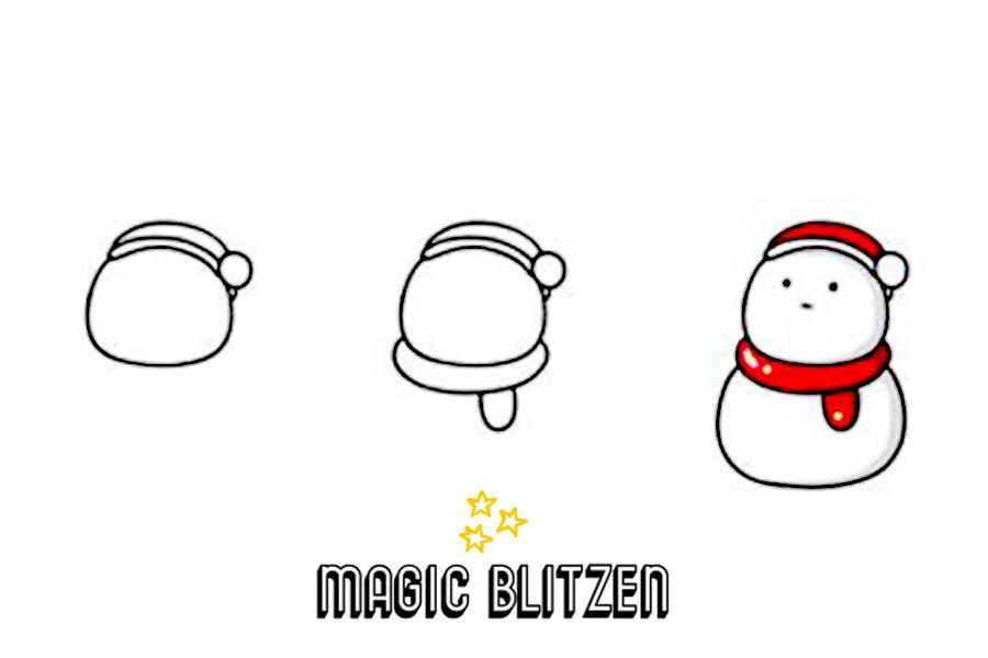 Disegno pupazzo di neve pupazzo di neve da colorare con i - Immagini da colorare la neve ...
