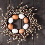 Come fare la ghirlanda di Pasqua