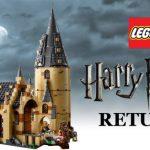 Il castello di Hogwarts di Lego è un sogno a occhi aperti