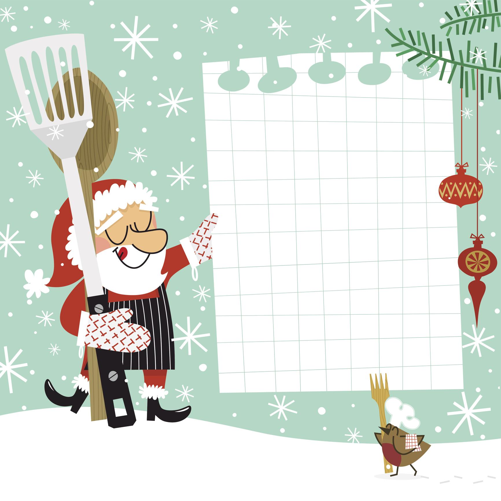 Lista spesa cenone Natale