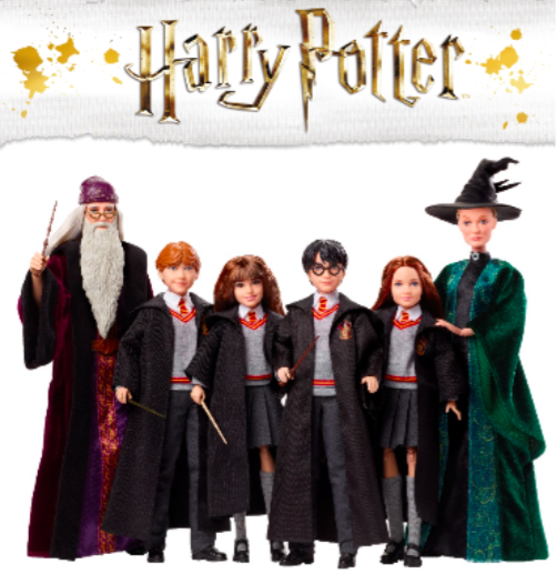 Harry Potter fashion dolls