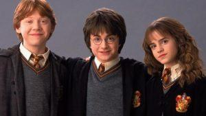 Harry Hermione Ron